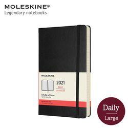 몰스킨 2021 데일리 12M 다이어리 하드커버 라지 블랙