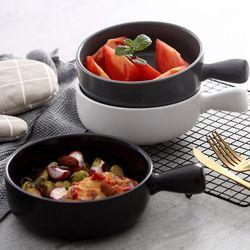 국 스프용 오븐 그릇