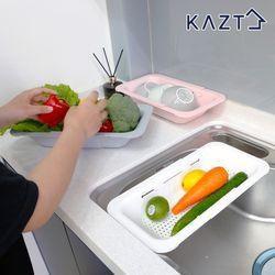 [무료배송] 프리미엄 길이조절 싱크트레이 채반 1개