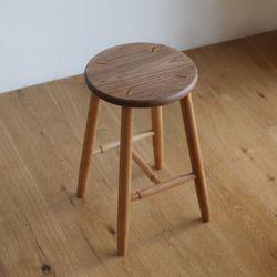 북유럽풍 원목 싱글 나무 의자