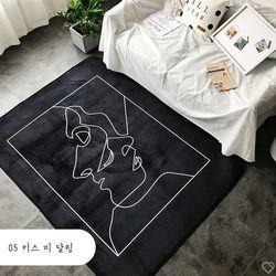 홈데코 모던스타일 심플 카펫 (안마의자매트)