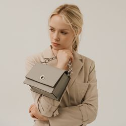 EMMA BAG - LIGHT GREY