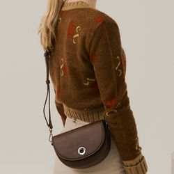 BELLO MINI CROSSBODY BAG - MOCHA