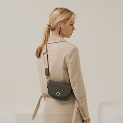 BELLO MINI CROSSBODY BAG - GREY