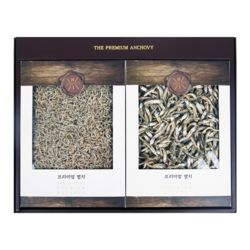 [해조]실속 멸치 2종 추석선물세트