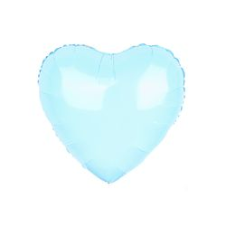 18인치 캔디 블루 하트 풍선