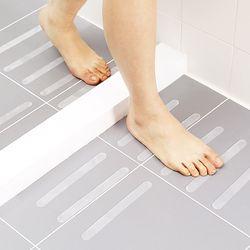 욕실 미끄럼 방지 스티커 일자형 (2x20cm) 6p