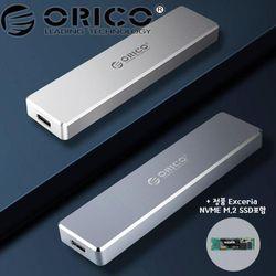 오리코본사 PVM2-C3 NVMe M.2케이스+SSD 1TB 포함