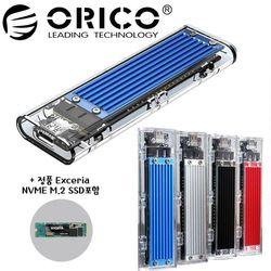 오리코본사 TCM2-C3 NVMe M.2케이스+SSD 500GB 포함