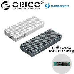 오리코본사 SCM2T3-G40 NVMe M.2케이스+SSD 255GB포함