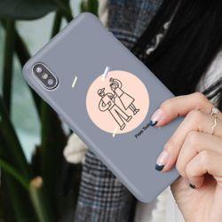 커플낙서 슬림 하드 케이스 갤럭시 노트 s 아이폰 xs