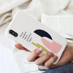 심플아트 슬림 하드 케이스 갤럭시 노트 s 아이폰 xs