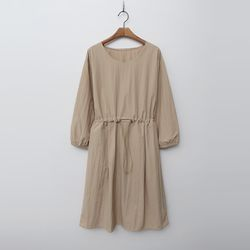 Nylon String Puff Dress