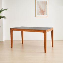 디센마제스틱 통세라믹 원목 4인용 식탁 테이블
