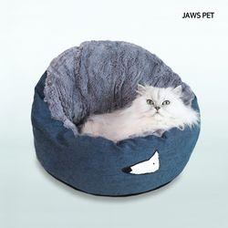 퀸즈방석 (블루) 강아지방석 고양이집 고양이숨숨집