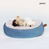 울랄라방석 (블루) 커버분리형 강아지방석 고양이방석 원형방석