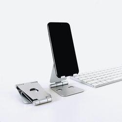 휴대용 접이식 스마트폰 휴대폰 아이폰 태블릿 거치대 받침대