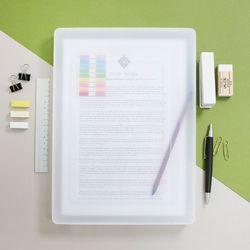 A4 서류 투명파일케이스 소형 FC02 1 + 1
