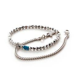 [세트상품] SVB - 228 Bead Chain Layered Bracelet