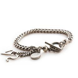SVB - 231 SV Antique silver Chain bracelet