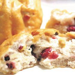 호두베리쌀빵(12개) 영양견과류 속편한 아침빵 비건빵