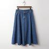 Denim Swing Skirt