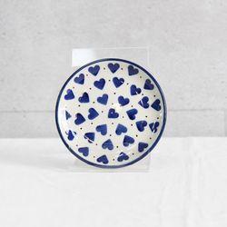 폴란드그릇 아티스티나 핸드메이드 원형접시 10cm 패턴570A