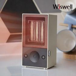 2초발열 클래식 미니온풍기 미니히터 WHT5930