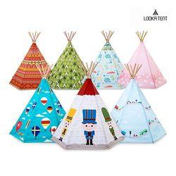 루카 유아 어린이 인디언 텐트 14종 모음 (LED SET)
