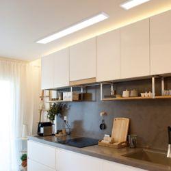 LED 후지 엣지 직부 리모컨 주방등 1280 x 320 50W