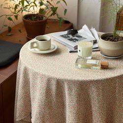 온더핑크메이트 식탁보 테이블보 120x120cm