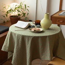 온더그린스쿨 식탁보 테이블보 120x120cm