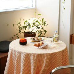 온더옐로스쿨 식탁보 테이블보 120x120cm