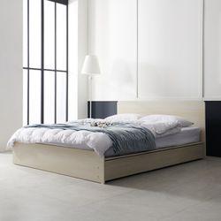 보루네오 하우스 아르메 에이든 평상형 침대 Q밸런스 독립매트