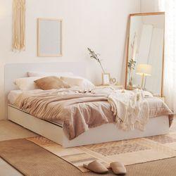 보루네오 하우스 아르메 에이든 평상형 침대 Q컴포트 본넬매트