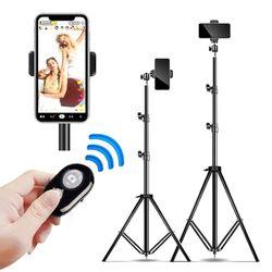 스마트폰 삼각대 거치대 1.2m 셀카봉 휴대폰