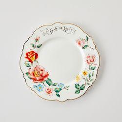 라비앙로즈 접시 D21