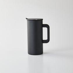 스테인리스 304 냉장고물병 1.5L 블랙