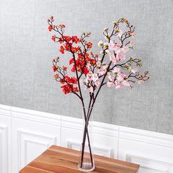 유니크매화가지 90cm 조화 꽃 인테리어 장식 FAIAFT