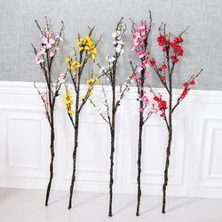 프리미엄흑매화가지 120cm 조화 꽃 인테리어 FAIAFT