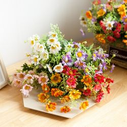 파인데이지부쉬 35cm 조화 꽃 인테리어 장식 FAIAFT