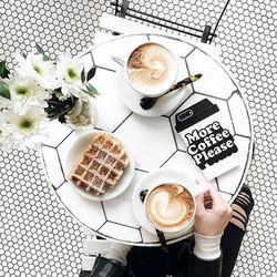 밴도 실리콘 케이스 모어 커피 플리즈 - 아이폰 78