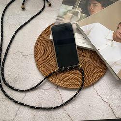 아이폰 핸드폰 스트랩 케이스 목걸이 줄 크로스 가방