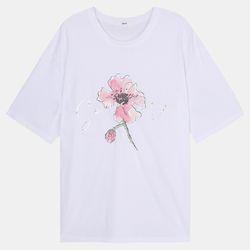 진주 장미 티셔츠 DARA20630창원점