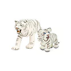 흰벵갈호랑이 동물피규어 2종세트(295029273129)
