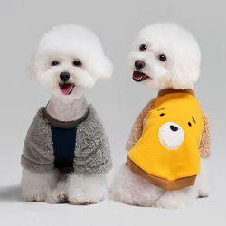 패리스독 강아지옷 라이베어 맨투맨