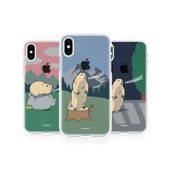 [Try]마멋 투명 젤리케이스.아이폰5S(SE)