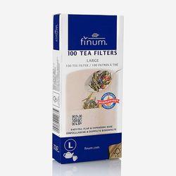 피넘 100 Tea 필터 L - 브라운
