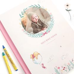 [편집대행] 0808 포토북 - 곰돌이 푸  행복한 시간