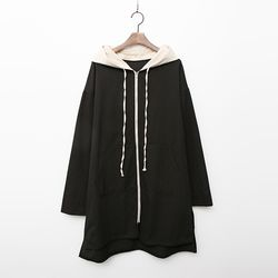 Cotton Hood Pocket Jumper